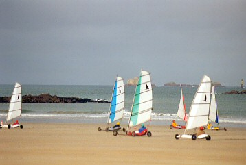 town beach, sandyachting